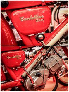 1934 Moto Guzzi Cardellino, 83cc.