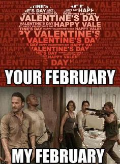 the walking dead, funny valentines day pictures Walking Dead Funny, The Walking Dead 3, Funny Valentines Day Pictures, Funny Pictures, Hilarious, Funny Memes, Twd Memes, Funny Ads, Memes Humor