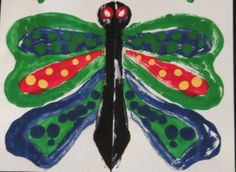 """FREE """"Spring Things"""" Easy-art Mono-Print              www.teacherspayteachers.com/Store/Art-Action-Laurie-Carpenter  A fun, mono-printing experience for the elementary student. FREE lesson plan has projects that are related to the season and environment of spring. It teaches children a basic art skill and exposes them to an understanding of the meaning of symmetry, as it is applied to nature."""