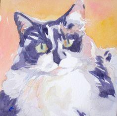 Dusky, painting by artist Jo MacKenzie