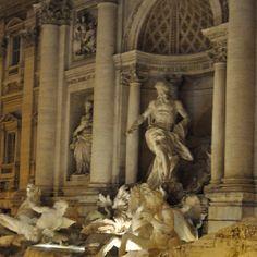 Fontana de Trevi...