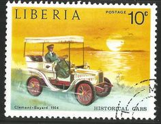 Liberia. 1973. Vintage Cars Clement-Baynard, 1904 Stamp. MNH Listing in the Liberia,Africa,Stamps Category on eBid United Kingdom
