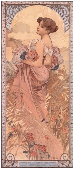 alfonse mucha | Alphonse Mucha*****✖️More Pins Like This One At FOSTERGINGER @ Pinterest✖️