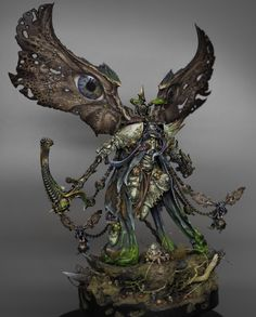 Mortarion, Gold trophy at Golden Demon 2019 : Warhammer 40000, Warhammer Paint, Warhammer Armies, Minis, Chaos Daemons, Tabletop, Warhammer 40k Miniatures, Game Character Design, Fantasy Miniatures