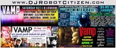 DJ Robot Citizen Australian Nightclub Radio Club DJs of Dark Alternative Gothic Industrial Electronica Electro Synth Pop Post Punk Indie Alt Rock Electronic Dance Music Goth Scene Goths Rivetheads Nightclubs Sydney Melbourne Canberra Perth Australia