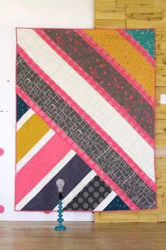 DUMAT quilt tutorial. I am loving the simplicity of this quilt!