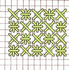 Double Cross Stitch Variation