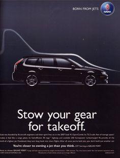 saab car ads | 2007 Saab 93