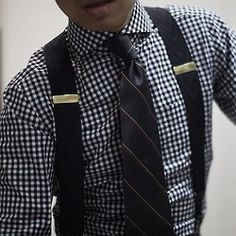 Stylish with suspenders