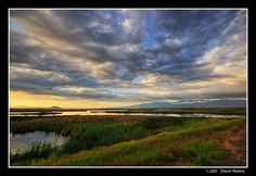 "Wetlands of Cache Valley, Utah - ""Cache Valley Sunrise"" by James Neeley, via Flickr"