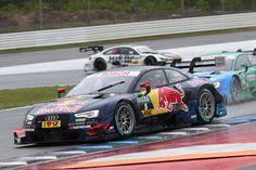Red Bull Audi RS 5 DTM on the top of the podium at Hockenheim - http://www.motrface.com/red-bull-audi-rs-5-dtm-on-the-top-of-the-podium-at-hockenheim/