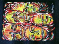 Faces by RayPrimrose oil painting
