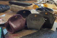 Leather, bags etc. : Photo