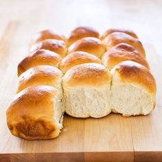 We wondered if we could make fresh, homemade dinner rolls ahead of time, freeze them, and still have them bake up fluffy and delicious.