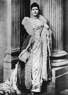 Lillian Spencer-Churchill née Warren Price (d. 1909), Duchess of Marlborough. Second wife of George 8th Duke
