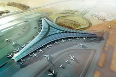 AIRPORT - Kuwait international airport by foster + partners