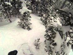 1st Person POV Snowboarding - Backcountry Gully Powder Run near A-Basin, Colorado. Filmed Mid-May, 2014. Hi-Def GoPro Video. #POVPowder http://www.POVPowder.com