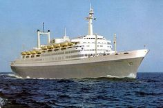 SS Rotterdam V - Part 1 - Construction to Maiden Voyage Sep 1959 Rotterdam, Holland America Line, Beautiful Ocean, Cruise Ships, Paddle, Sailing Ships, Good Times, Dutch, Past