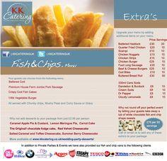 Fish and Chip Menu - KK Catering
