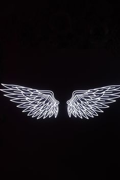 Wings Wallpaper, Flower Iphone Wallpaper, Angel Wallpaper, Black Phone Wallpaper, Neon Wallpaper, Aesthetic Iphone Wallpaper, Small Tattoos, Tattoos For Guys, Black And White Picture Wall