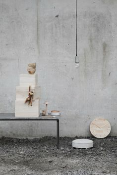 Interior Styling | Concrete & Wood