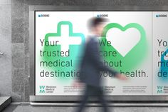 SODIC Westown Medical Centre on Behance branding Medical Posters, Medical Logo, Medical Care, Medical Coding, Technology Quotes, Medical Technology, Technology Logo, Technology Articles, Technology Wallpaper