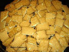 Betty's Cuisine: Τούρτα με μπισκότα