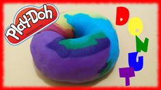 Rainbow Donut, Watch Diy, Play Doh, Watch Video, Donuts, Channel, Toys, World, Videos