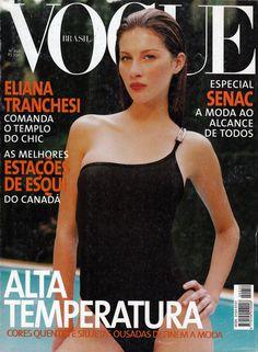 Gisele Bundchen by Gui Paganini Vogue Brazil December 1998