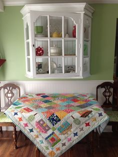 Town Square, one of the many projects in Quilty Fun by Lori Holt of Bee in my Bonnet!