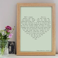 Personalised Love Heart Print – Little Pieces