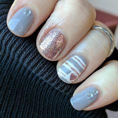 "Tried out @ilnpbrand ""Madison Ave"" with @julepmaven ""Linda"" Love the pink and gray together! #nails2inspire #instanails #nail #nails #nailart #nailpolishaddict #notd #nailsoftheday #nailsofinstagram #mani #manicure #nailsdid #naildesign #nailswag #nailpolish #nailpolishlover #naildesigns #nailartist #nailitdaily #nailstagram #nailguru #ilnp"