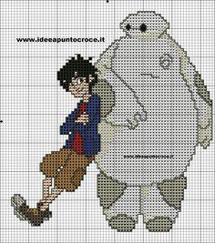 Big Hero 6 - Disney Pattern by IDEE A PUNTO CROCE