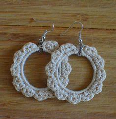Crochet Earrings  sarahnadeshop.etsy.com