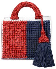 St. Barts large woven handbag - Metallic 0711 4SeBCtlv33