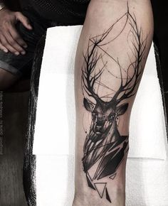 Deer forearm tattoo – 45 Inspiring Deer Tattoo Designs Source by cuded Elephant Tattoos, Wolf Tattoos, Animal Tattoos, Hand Tattoos, Body Art Tattoos, Sleeve Tattoos, Modern Tattoos, Unique Tattoos, Hirsch Tattoos