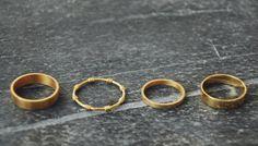 Hvisk gold rings