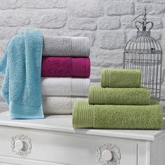 Turko Textile LLC dba Enchante Home Flossy Turkish Cotton Towel Set - White Pool Sizes, Turkish Cotton Towels, Linen Store, Turkish Bath, Pool Towels, Bath Towels, Bath Linens, Trendy Colors, Towel Set