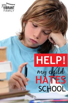 What do you do when your child hates school? That was my painful reality last year at this time. I'm sharing my story here because if you've never experienced this, chances are you will encounter it sometime in your tenure as a homeschool mom. Here's what we went through; how our family navigated through this difficult time; and the hope we discovered along the way.