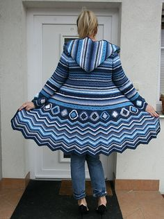 Learn how to make this beautiful coat crochet patterns free ravelry ebook crochet cardi missoni inspiration patterns fandeluxe Images