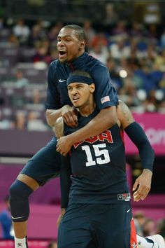 Durant and Anthony - 2012 USA Basketball Team