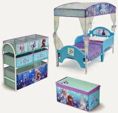 Bedroom Decor Ideas and Designs: How to Decorate a Disney's Frozen Themed Bedroom