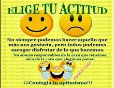 Tu actitud va definir lo que hagas!!! Se positivo y todo lo positivo vendrá hacía ti!!! #anabelycarlos #actitudpositiva