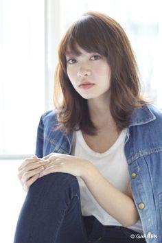 【Grow】薬袋光 ラフな感じが可愛い頑張り過ぎない自分ヘア!! | GARDEN HAIR CATALOG | 原宿 表参道 銀座 美容室 ヘアサロン ガーデン Hair Inspo, Hair Inspiration, Hair Setting, Hair Color And Cut, Asian Hair, Japan Girl, Medium Hair Cuts, Dream Hair, Natural Curls