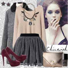 """Chicwish 8"" by christinavakidou on Polyvore"