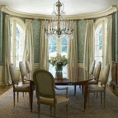 """""""Simple"""" elegant dining room"""