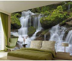 Waterval behang groot 315 x 232 cm