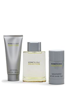 Introducing Kenneth Cole Reaction 3 Piece Gift Set for Men Eau de Toilette Spray Plus After Shave Balm Plus Deodorant Stick. Great product and follow us for more updates!
