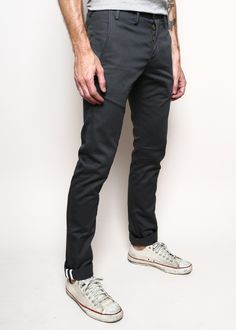 Rogue Territory - Office Trousers in Grey $185 USD The details when you roll up the legs to show contrast stitching are my favorite in pants. http://www.rogueterritory.com/shop/officer-trousers-grey/