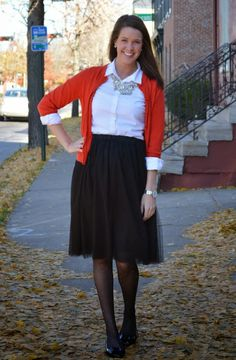 Tulle Skirt: Two Ways